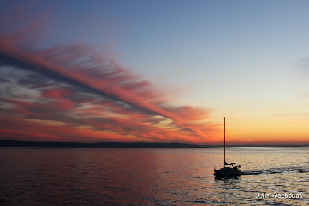 Lost at Sea by Julia Washburn