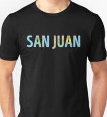 San Juan World Map - Cool Puerto Rico Traveler Gift Unisex T-Shirt