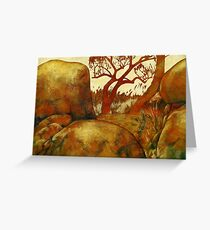 Summer Afternoon Greeting Card