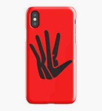 Hand Of Kawhi Tho iPhone Case/Skin