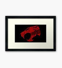 Thundercats Symbol Framed Print