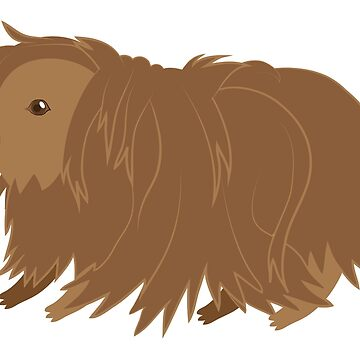 Hairy guinea pig by jazzydevil