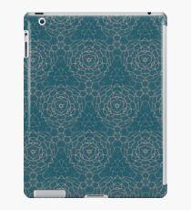 Teal geometric pattern  iPad Case/Skin