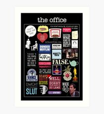 The Office | Elements | Quotes Art Print