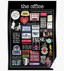 Póster La oficina | Elementos | Citas