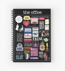 The Office | Elements | Quotes Spiral Notebook
