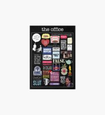 The Office   Elements   Quotes Art Board Print