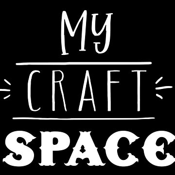 My Craft Space by jazzydevil