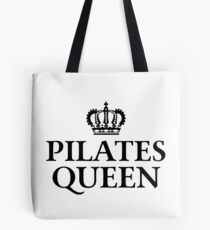 Pilates Queen Tote Bag