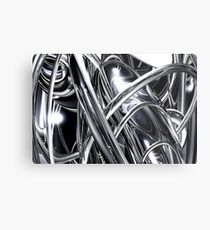 Graphite Metal Print