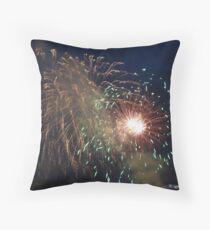 Fireburst Throw Pillow