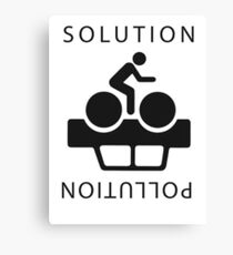 Solution To Pollution Canvas Print