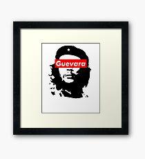 Che Guevara Supreme Parody Box Logo  Framed Print