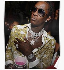 Young Thug Poster Poster