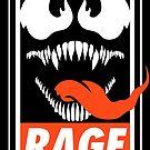 Rage. by J.C. Maziu