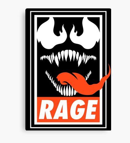 Rage. Canvas Print