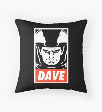 Dave. Throw Pillow