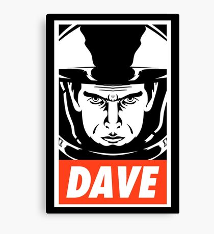 Dave. Canvas Print