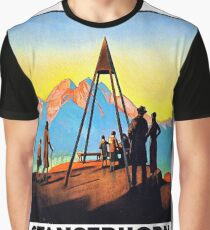 Stanserhorn, mountain peak, Switzerland Graphic T-Shirt