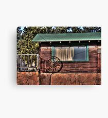 Green Roof Canvas Print