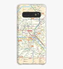 Paris Subway Map - France Case/Skin for Samsung Galaxy