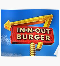 IN-N-OUT BURGER  Poster