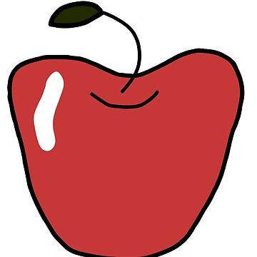 Gravity Apple by lauren-w