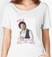 Kit Harington Women's Relaxed Fit T-Shirt