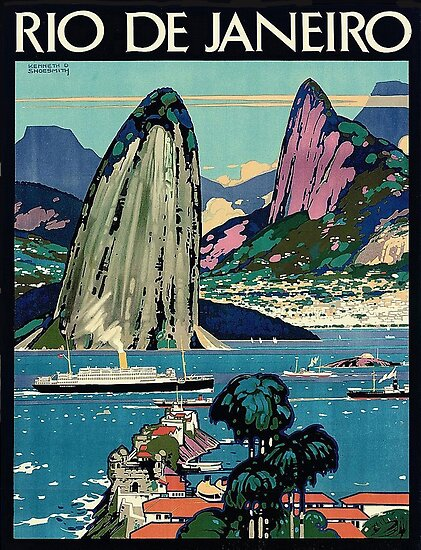 Rio de Janeiro, Küste, Brasilien, Segelboote von AmorOmniaVincit
