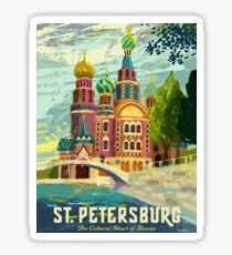 St. Petersburg, Church of the Savior on Blood, Russia Sticker