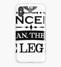 Mann mythos legende geschenk Vincent iPhone Case/Skin