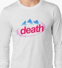 death evian cyberpunk vaporwave health goth Long Sleeve T-Shirt