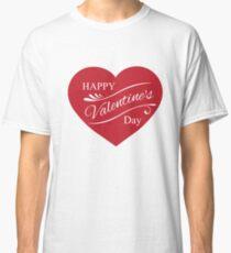Happy Valentine's Day  Classic T-Shirt
