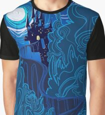 Road to Spooky Castle Graphic T-Shirt