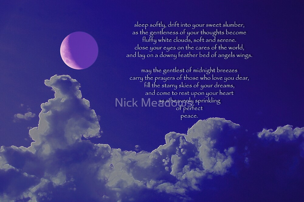 Sleeptime prayer by Nick Meadows