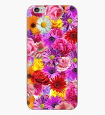 Vinilo o funda para iPhone cama de flores