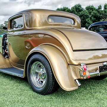 1930's Hot Rod Tudor in bronze by Ferenghi