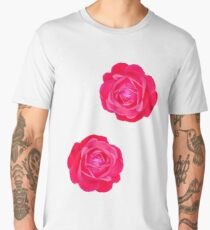 Two pink roses Men's Premium T-Shirt