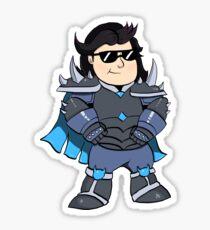 Beto the Knight Sticker