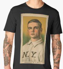 Benjamin K Edwards Collection Rube Marquard New York Giants baseball card portrait 002 Men's Premium T-Shirt