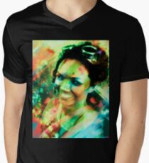 Girl with the Goggles Men's V-Neck T-Shirt