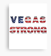 Vegas Strong (Nevada), #VegasStrong Canvas Print