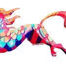 Rainbow Unicorn Dragon by Astyrra