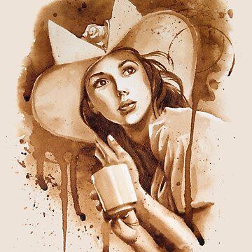 Cafe Belle by FrancoisArt