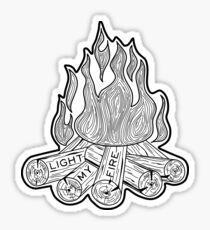 The Doors - Light My Fire Sticker