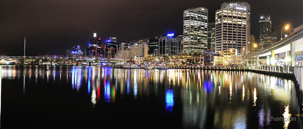 Darling Harbour - City Side by champion