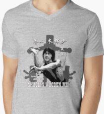 Shaolin Wooden Men Men's V-Neck T-Shirt
