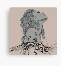 Floating in The Rhythm Canvas Print