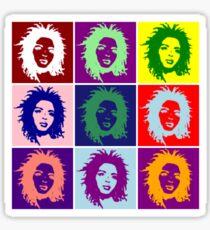 Ms. Lauryn vs Andy Warhol Sticker
