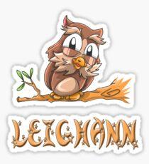 Leighann Owl Sticker